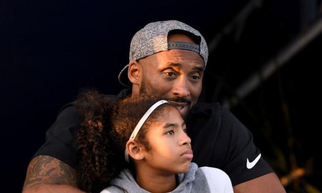 Браянт і його дочка Джанна летіли на баскетбольний матч