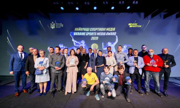 Українські спортивні журналісти отримали почесні нагороди