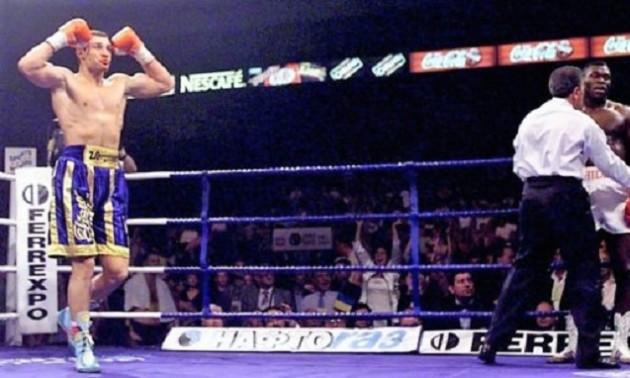 20 років тому Кличко завоював перший в історії України пояс чемпіона світу