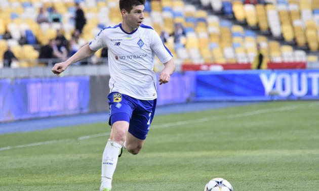 Олімпік оголосив про оренду півзахисника Динамо