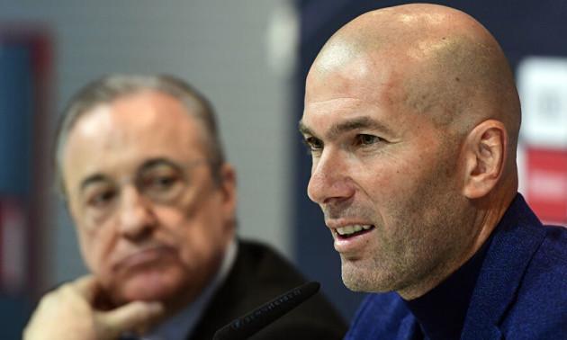 Реал звільнить Зідана в разі поразки від Галатасарая у Лізі чемпіонів