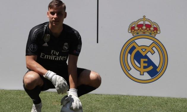 Лунін потрапив дозаявки Реалу наСуперкубок УЄФА