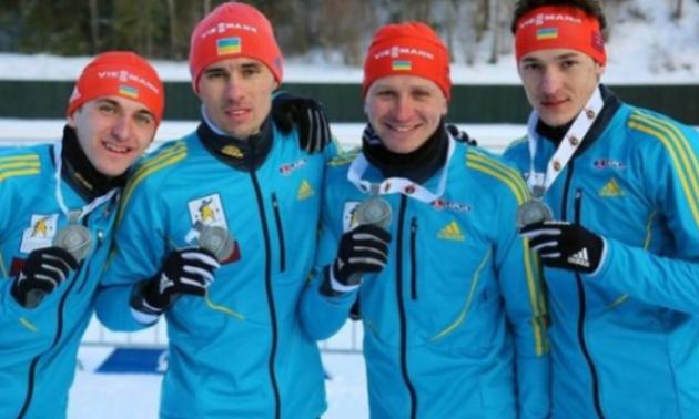 Українські біатлоністи через допінг росіян отримали золоті медалі чемпіонату Європи