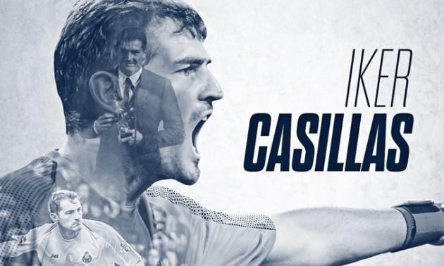 Касільяс продовжив контракт з Порту