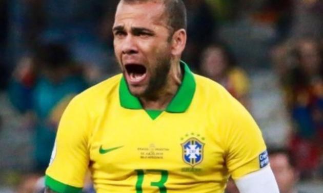 Алвес назвав справжнього лідера у збірній Бразилії