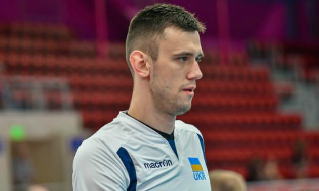 Український волейболіст перейшов до чемпіона Болгарії