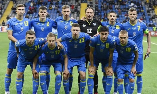 Збірна України втратила дві позиції у рейтингу ФІФА