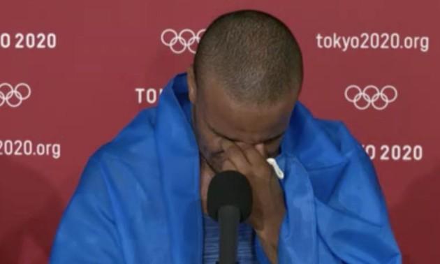 Пробачте за сльози. Беленюк розплакався після перемоги на Олімпіаді