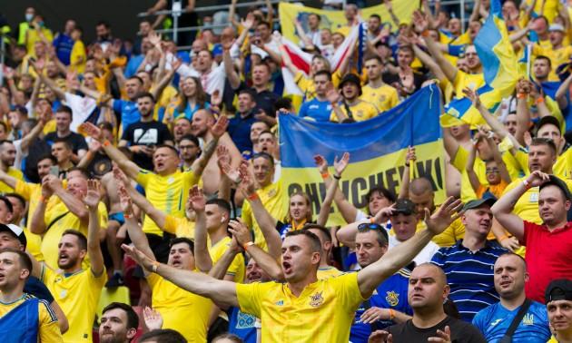 Червона рута, Путін - х*йло та гімн України: як українці підтримували збірну в Бухаресті