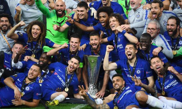 Челсі - переможець Ліги Європи. Відео церемонії нагородження