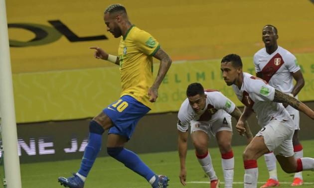 Бразилія - Перу 2:0. Огляд матчу