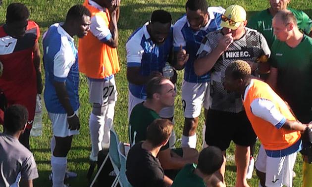 У Полтаві на аматорському турнірі стався расистський скандал