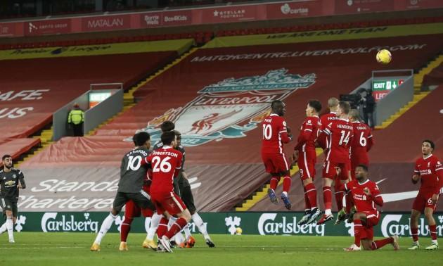 Ліверпуль та Манчестер Юнайтед не виявили сильнішого у 19 турі АПЛ