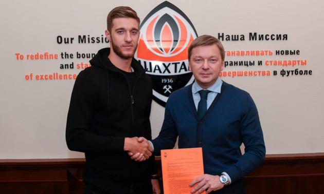 Новачок Шахтаря Бондаренко провів перше тренування з гірниками. ВІДЕО