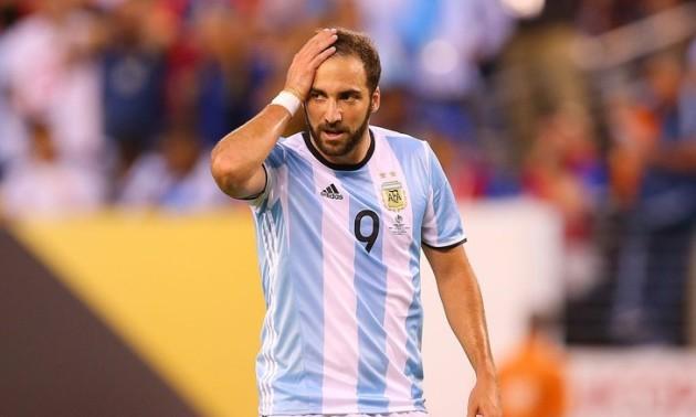 Ігуаїн завершив кар'єру в збірній Аргентини