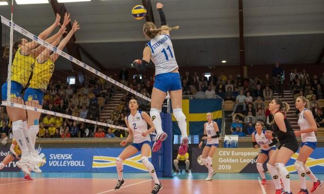 Жіноча збірна України знову розгромила Швецію у Золотій Євролізі