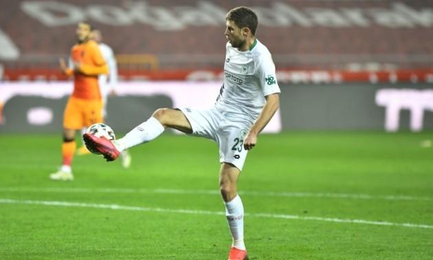 Кравець відзначився голом у турецькій Суперлізі