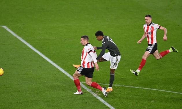 Манчестер Юнайтед здобув вольову перемогу над Шеффілдом у 13 турі АПЛ