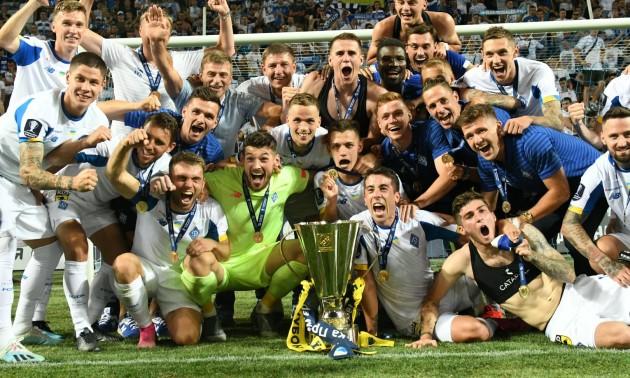 Динамо - володар Суперкубку України. Церемонія нагородження