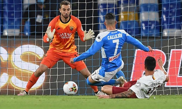 Наполі обіграло Рому у 30 турі Серії А