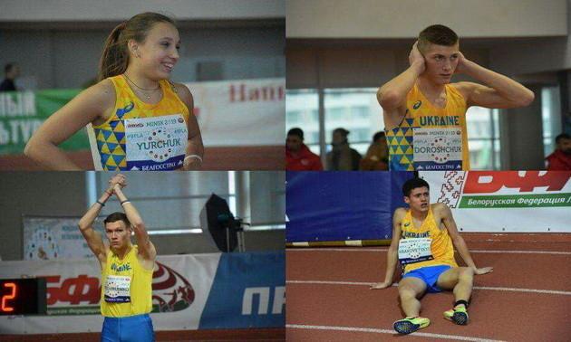 Збірна України феєрично виступила на міжнародних змаганнях з легкої атлетики