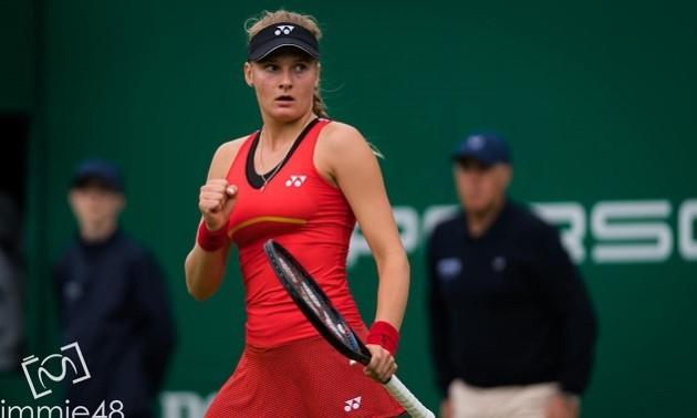 Ястремська програла у парному розряді на турнірі в Осаці