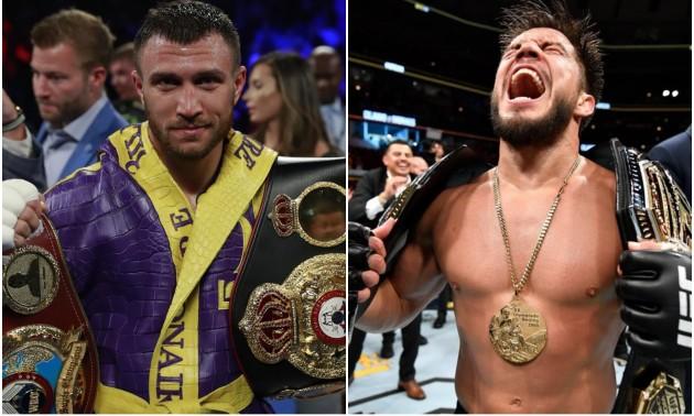 """Ломаченко двічі """"поставив на місце"""" чемпіона UFC"""