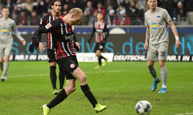 Айнтрахт врятувався у матчі із Гертою у 14 турі Бундесліги