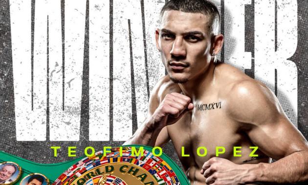 Лопес став 13-им абсолютним чемпіоном світу в еру чотирьох поясів