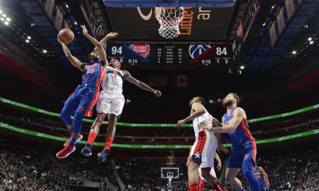 Детройт без Михайлюка переграв Вашингтон. Результати матчів НБА