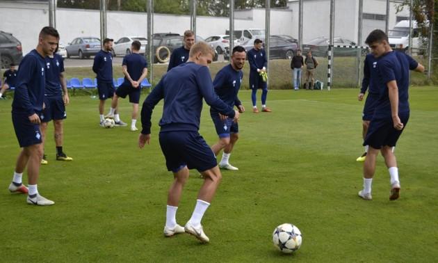 Динамо разом із гравцями збірної готується до матчу з Зорею. ВІДЕО