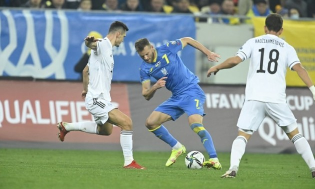 Джеко: Україна грала краще на початку матчу і до свого голу