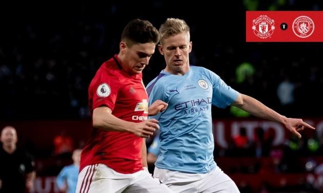 Манчестер Юнайтед - Манчестер Сіті 2:0. Огляд матчу