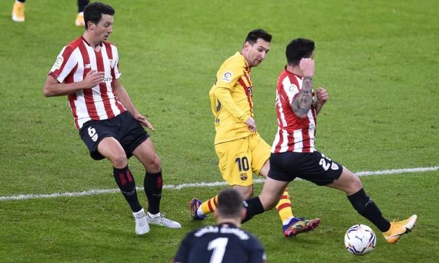 Барселона перемогла Атлетік у перенесеному матчі Ла-Ліги