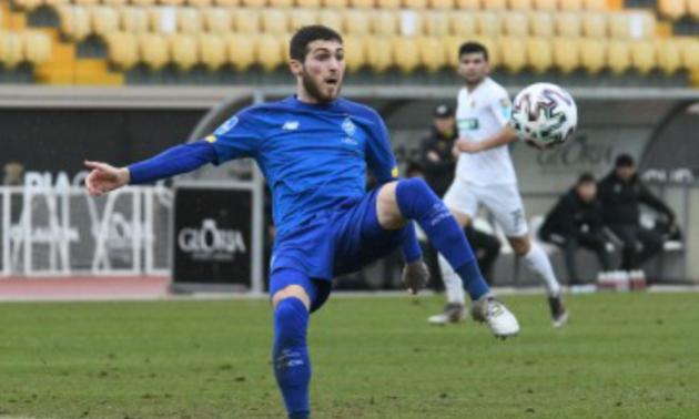 Цітаішвілі та ще троє гравців повернулися у Динамо-U-19