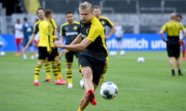 Голанд травмувався у грі з Баварією