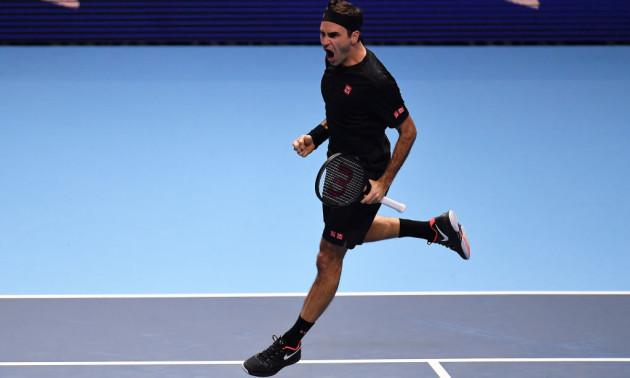 Федерер у двох сетах переграв Джоковича на Підсумковому турнірі