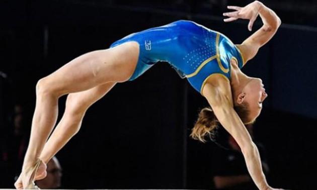 Варинська здобула бронзу на Європейських іграх у вправах на колоді