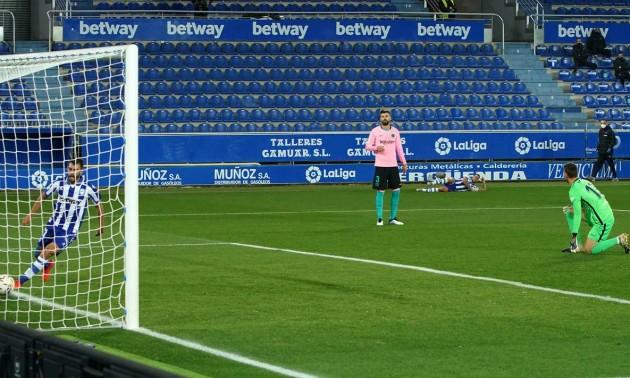 Барселона не змогла перемогти Алавес у 8 турі Ла-Ліги