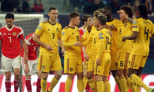 У матчі Росія - Бельгія стався скандал