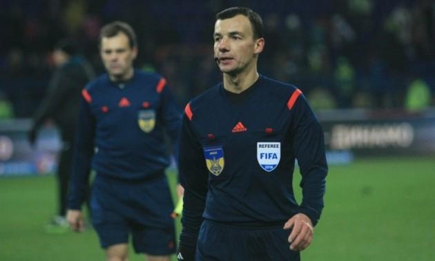 Українська бригада арбітрів отримала призначення на матч відбору Євро-2020
