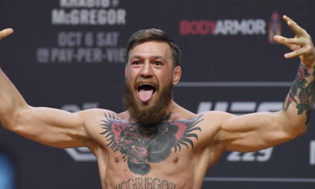 Мак-Грегор анонсував своє повернення в UFC
