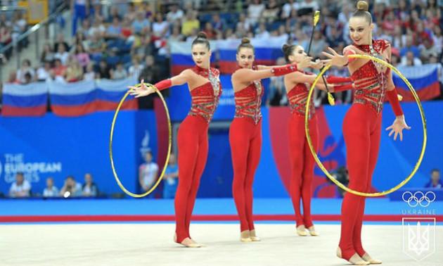 Українські гімнастки здобули срібні нагороди на Європейських іграх