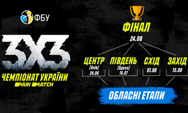 2-й тур чемпіонату України 3х3 прийме Одеса