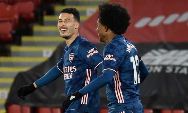 Арсенал розгромив Шеффілд Юнайтед  у 31 турі АПЛ