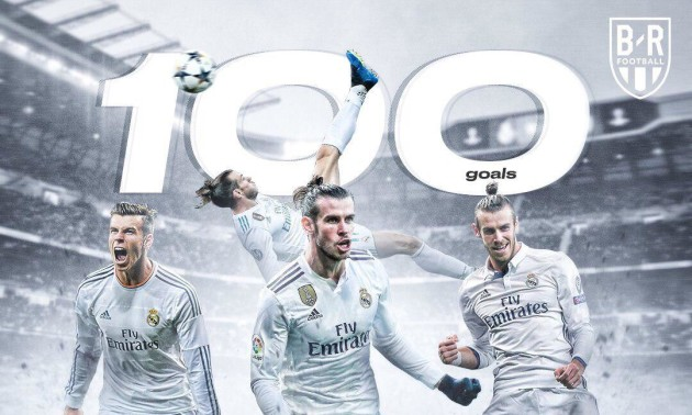 Бейл забив 100-й гол за Реал. ВІДЕО