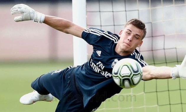 Реал показав тренування Луніна на зборах