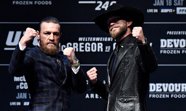 Мак-Грегор - Серроне: онлайн-трансляція супербою UFC