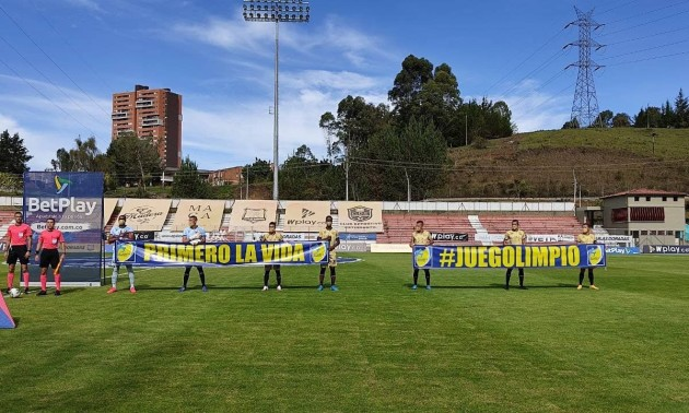 У Колумбії команда змогла виставити на матч лише сім гравців