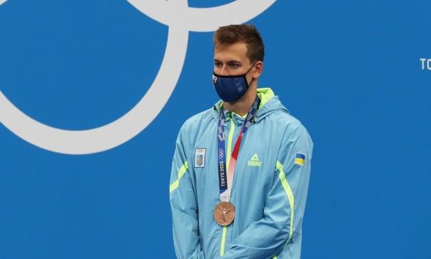 Романчук здобув бронзу на дистанції 800 м вільним стилем